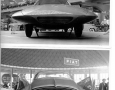 1955 Ghia Gilda Streamline-X front and back