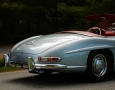 Silver Blue 1962 300SL Disc Brake Roadster 13