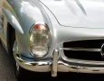 Silver Blue 1962 300SL Disc Brake Roadster 18