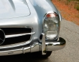 Silver Blue 1962 300SL Disc Brake Roadster 19