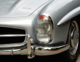 Silver Blue 1962 300SL Disc Brake Roadster 21