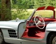 Silver Blue 1962 300SL Disc Brake Roadster 33