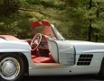 Silver Blue 1962 300SL Disc Brake Roadster 41