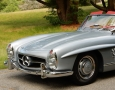 Silver Blue 1962 300SL Disc Brake Roadster 9