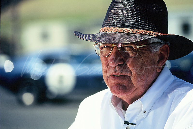 Automotive Legend Carroll Shelby (1923-2012)