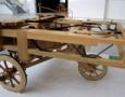 """Da Vinci's """"Car"""" Replica Model"""