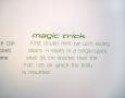 Magic Trick Mini Car Placard