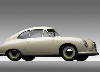 1949 Porsche 356-2 Gmund Coupe - f3q