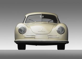 1949 Porsche 356-2 Gmund Coupe - front