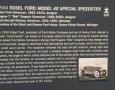 Edsel Ford Model 40 Special Speedster, 1934