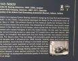 Tasco, 1948 Information Board
