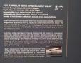1955 Ghia Gilda Streamline X info board