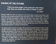 Visions of the Future Info Board