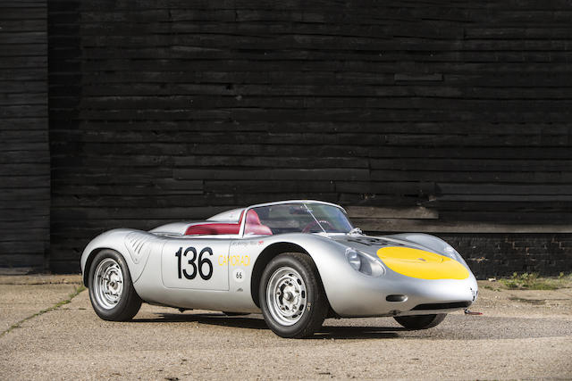 1-1961 Porsche RS-61 Spyder Sports-Racing Two-Seater