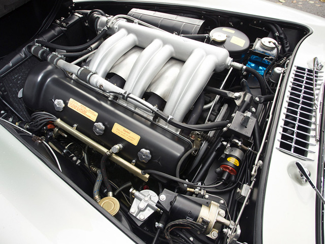 1955 Alloy 300SL Gullwing Engine