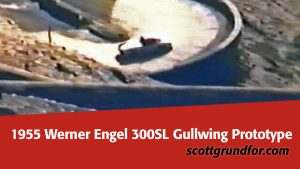 1955 Werner Engel Gullwing 300SL Prototype