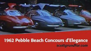 1963 Pebble Beach Concours d'Elegance
