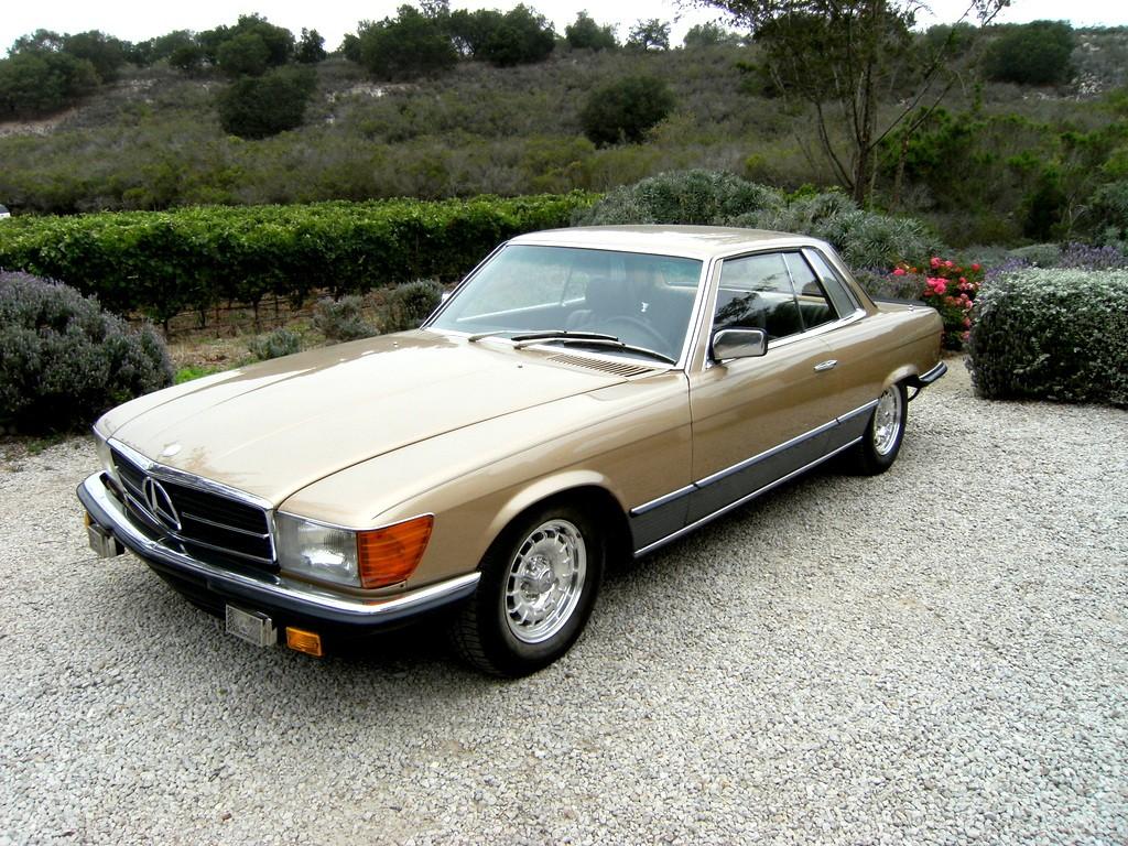 1981 Mercedes-Benz 500SLC