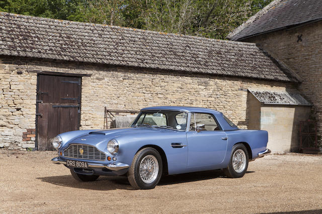4-1963 Aston Martin DB4 Series V Convertible