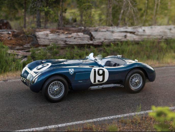 53 Jaguar C-Type Works Lightweight
