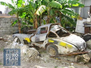 The Cuban 300SL Gullwing