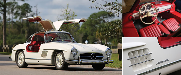 1955 Mercedes-Benz 300 SL Gullwing - RM Sotheby's