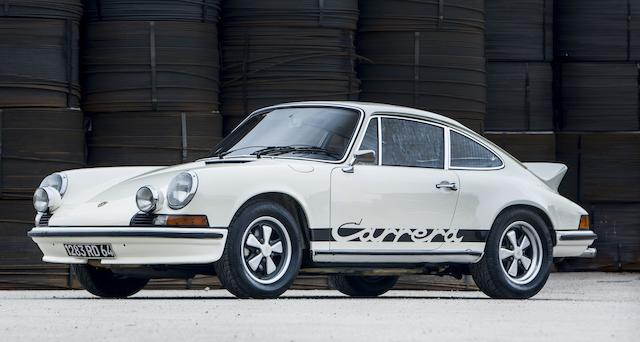 1973 PORSCHE 911 2.7 CARRERA RS TOURING SUNROOF COUPÉ