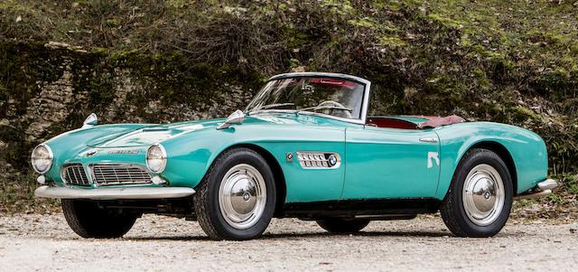 1957 BMW 507 3.2-LITRE SERIES I ROADSTER WITH HARDTOP
