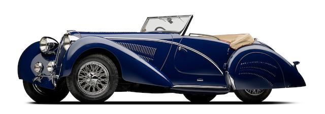1937 Delahaye 135M Competition Court Roadster