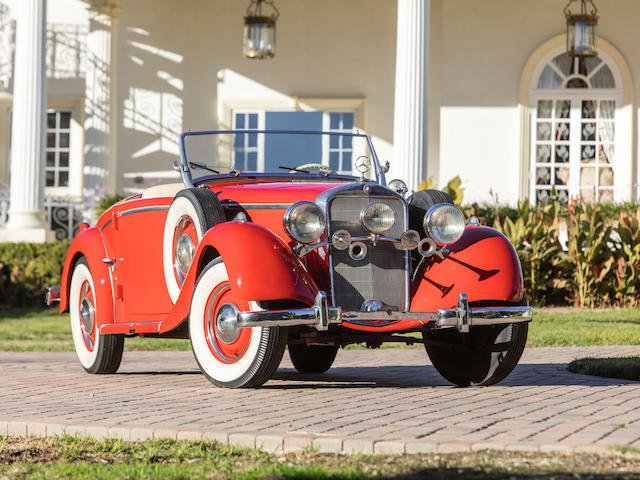 1937 MERCEDES-BENZ TYPE 230 SPECIAL ROADSTER