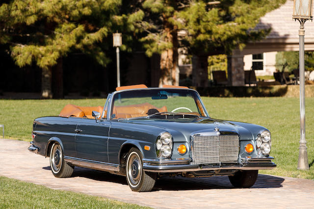 1970 MERCEDES-BENZ 280SE CABRIOLET TO 3.5 SPEC