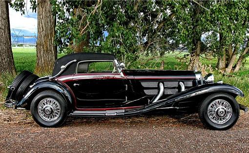 Car For Sale: 1936 Mercedes-Benz 540K Sport Cabriolet A by Sindelfingen