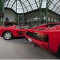 Six Ferrari Testarossas