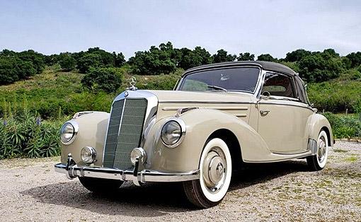 Car for Sale - 1953 Mercedes-Benz 220 Cabriolet A