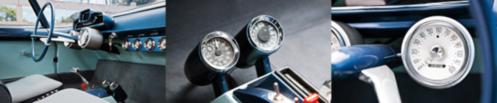 Ghia Gilda Interior Instruments