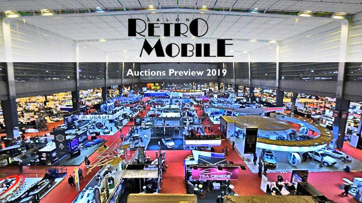 Retromobile Auctions Preview 2019