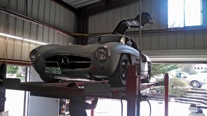 HK Engineering 300Sl Gullwing Race Car