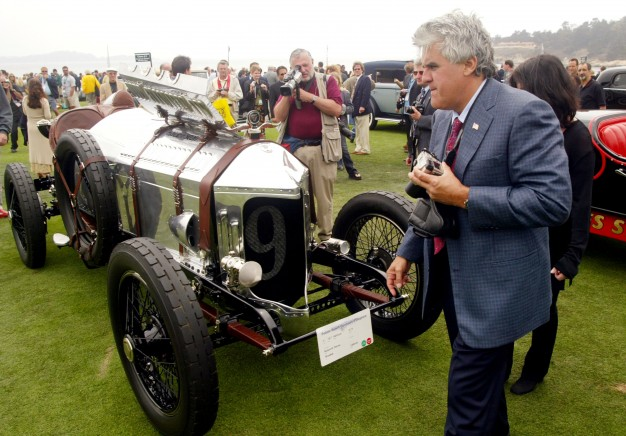 Jay Leno is a regular at Pebble Beach.
