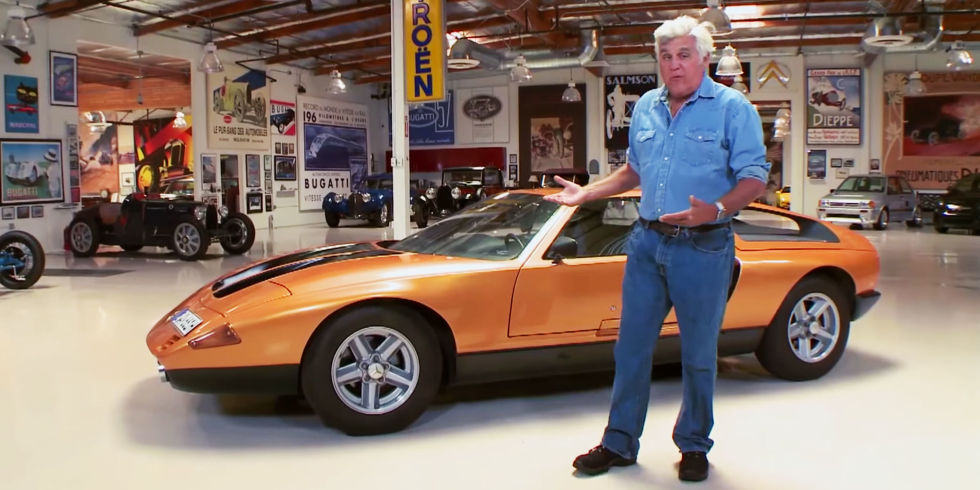 Jay Leno's Garage - Mercedes Benz C111