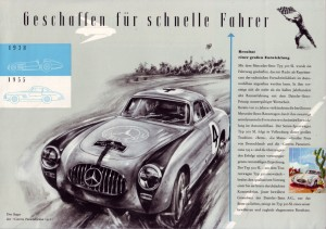 1955 Mercedes-Benz 300SL Brochure