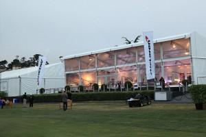the McLaren pavilion