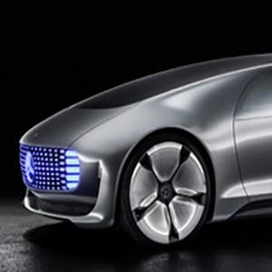 Mercedes-Benz F 015 Driverless Car