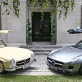 Mercedes-Benz 300SL and 300SLS AMG Gullwing.
