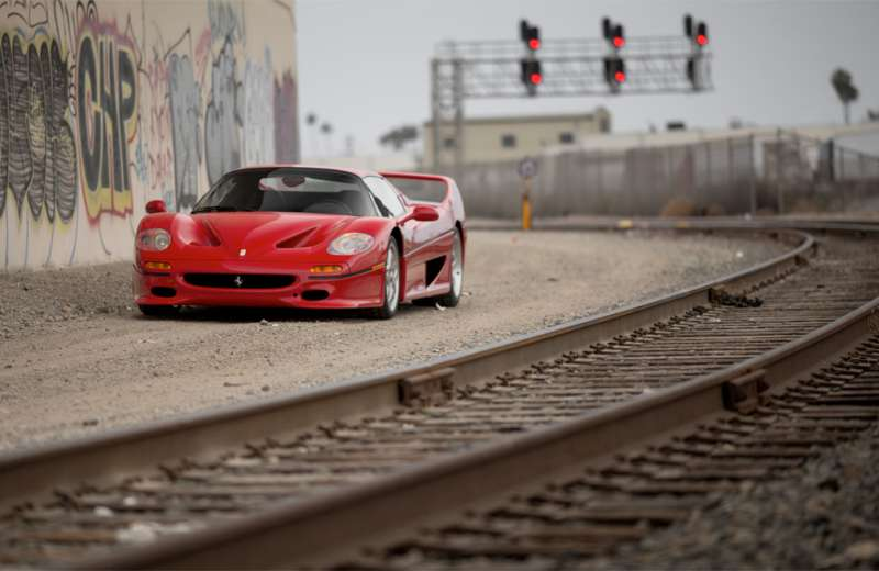 A Ferrari F50, set to be featured in RM Sotheby's Pinnacle Portfolio sale this August.