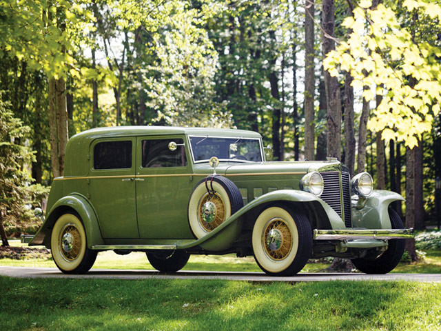 1932 Marmon Sixteen Close-Coupled Sedan by LeBaron