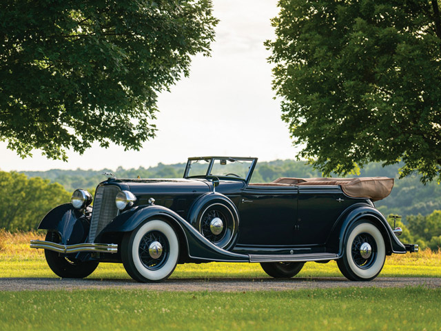 1934 Lincoln Model KB Convertible Sedan by Dietrich
