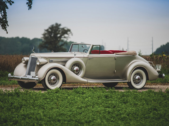 1936 Packard Twelve Convertible Victoria