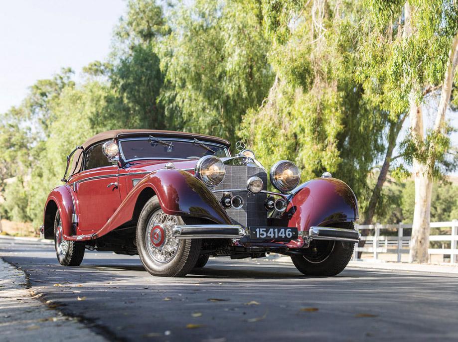 1937 Mercedes-Benz 540 K Sport Cabriolet A by Sindelfingen