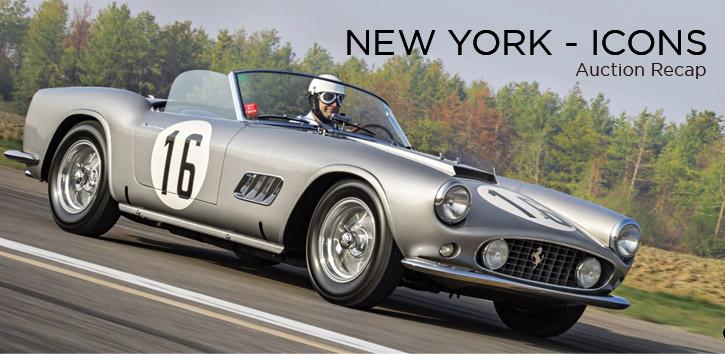 New York Icons - Auctions Recap