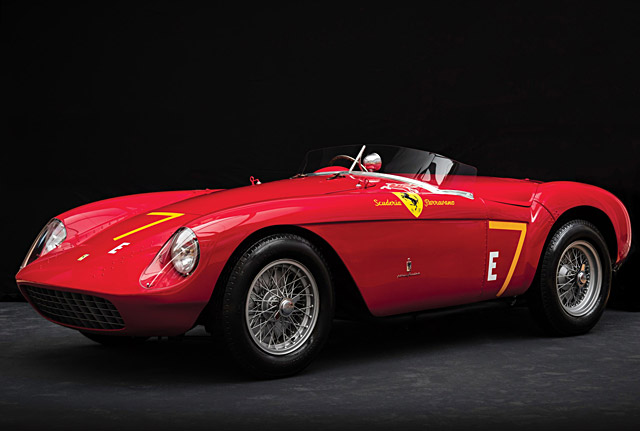 1954 Ferrari 500 Mondial Spider by Pinin Farina